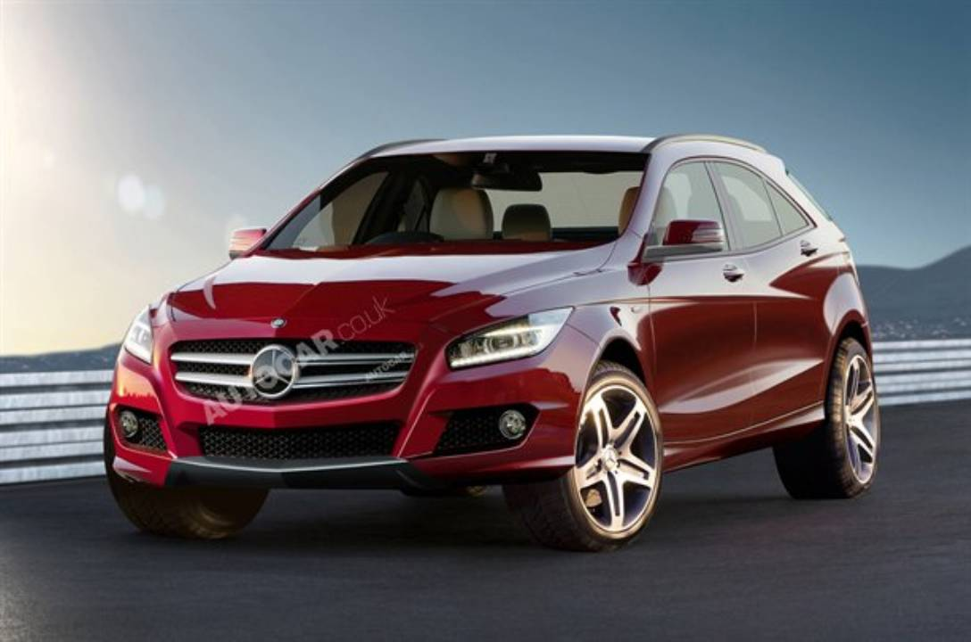 Mercedes-Benz To Launch GLA Compact SUV In 2013