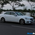 Mercedes E-Class Efficiency
