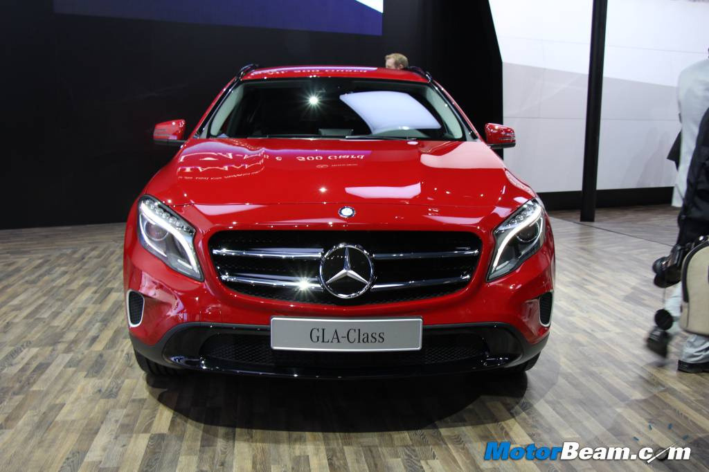 Mercedes benz to launch compact suv gla in india by 2014 for Mercedes benz prices in india