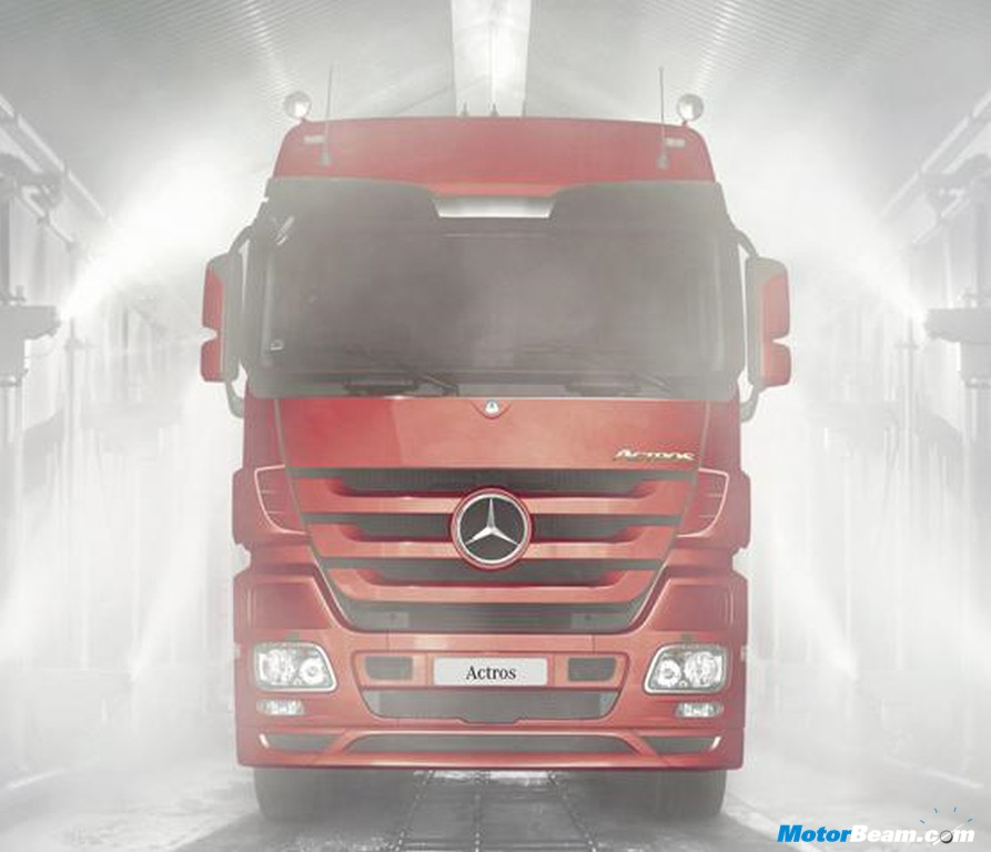 Mercedes Benz Launches Actros 4841K Truck