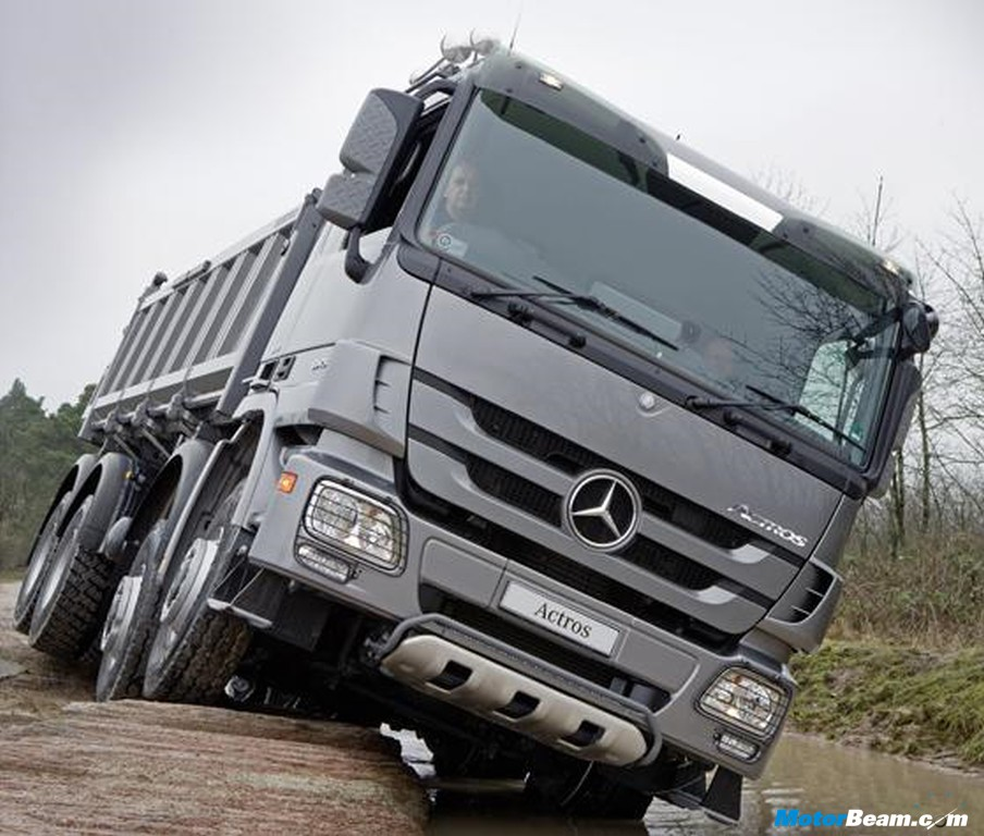 Mercedes Actros Trucks Motorbeam Indian Car Bike News Amp Reviews
