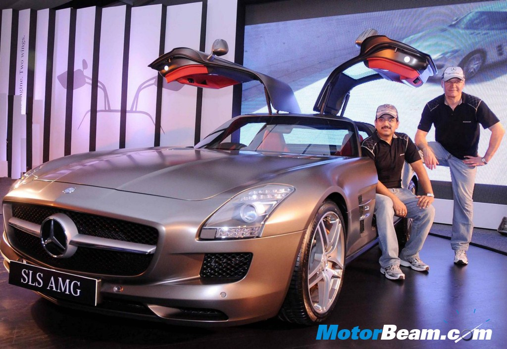and CEO of Mercedes-Benz India commented. Mercedes SLS AMG Wallpaper