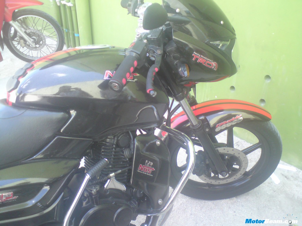 Modified Bajaj Pulsar 150 In Maldives