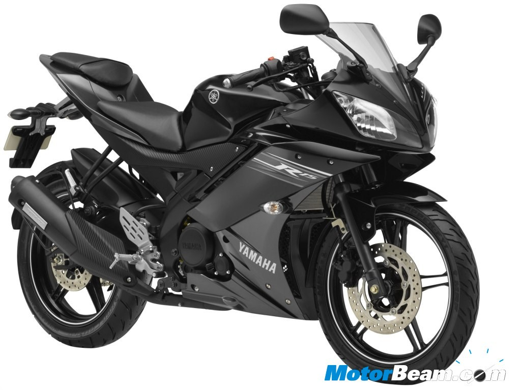 New Yamaha R15 - Midnight Black