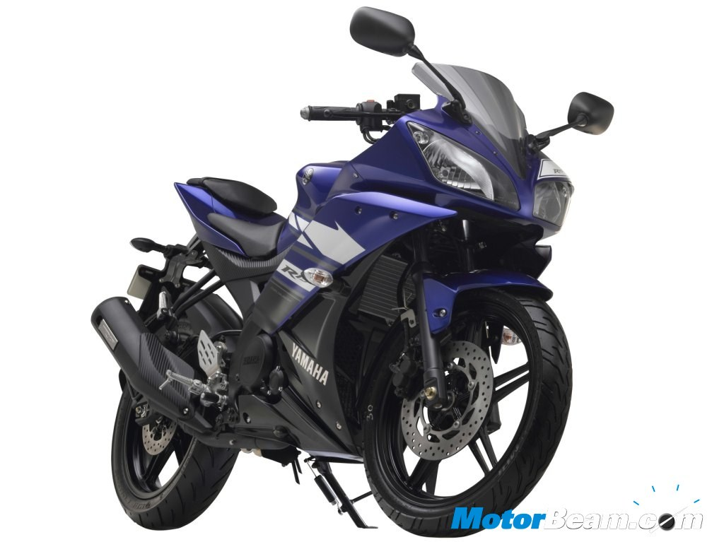 New Yamaha R15 - Racing Blue