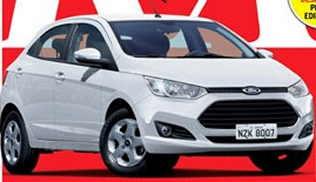 Next Generation Ford Figo
