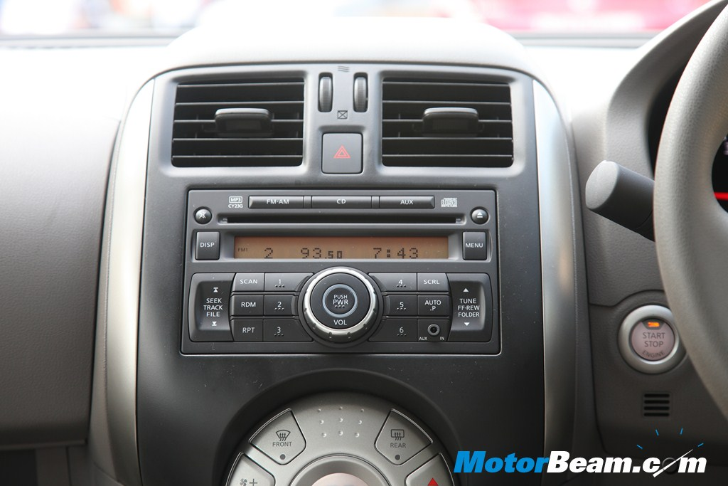 Nissan Sunny - Audio System