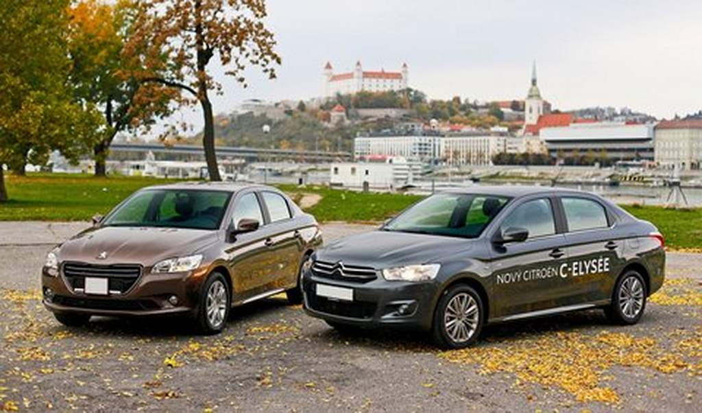 Peugeot 301 and Citroen C-Elysee
