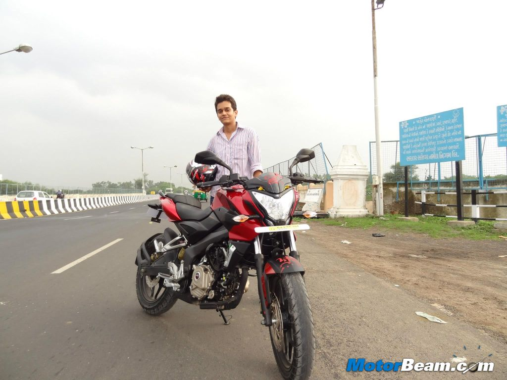 Pulsar 200NS Ownership Nishant