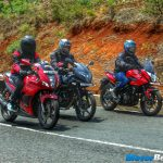 Pulsar 220 vs Pulsar AS 200 vs Hero Karizma Review