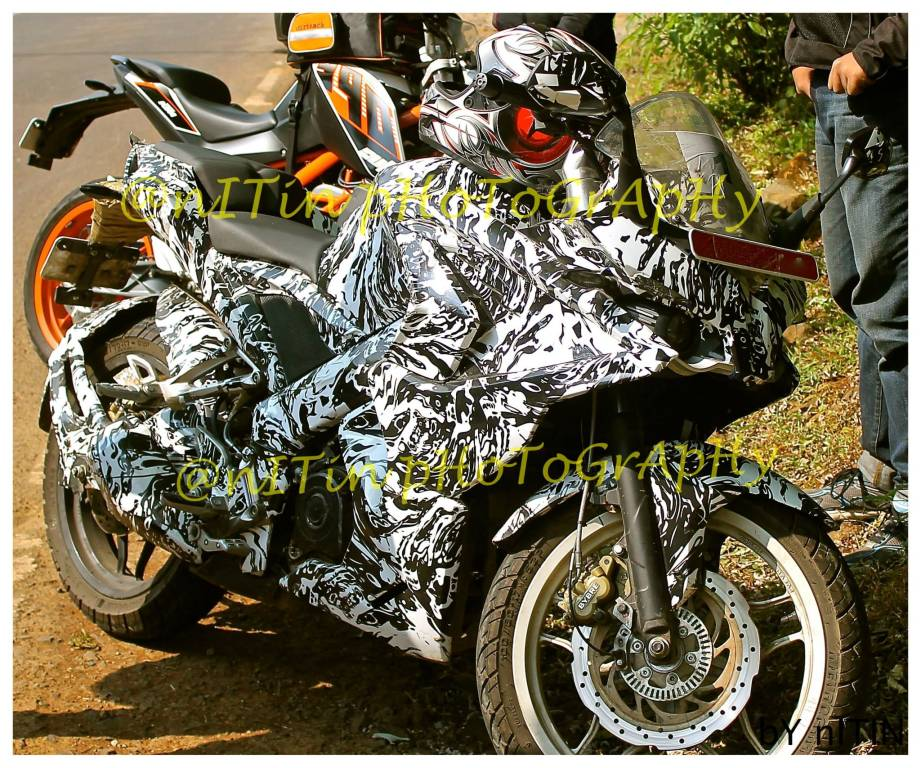 Pulsar 375 Spotted Testing In Lavasa, Launch Soon | MotorBeam ...