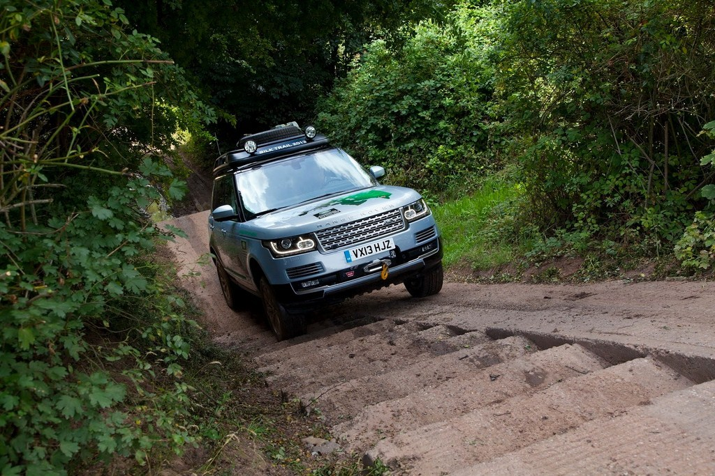 Range Rover Hybrid Offroad