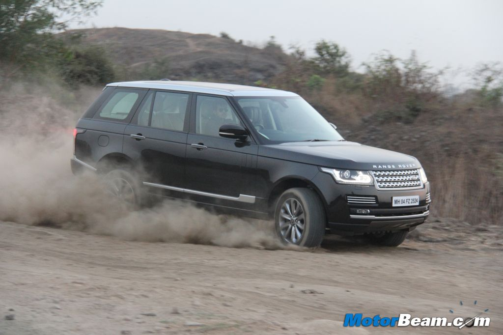 Range Rover Off Roading