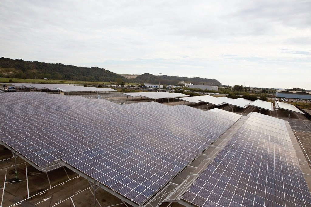 Renault Photovoltaic Panels
