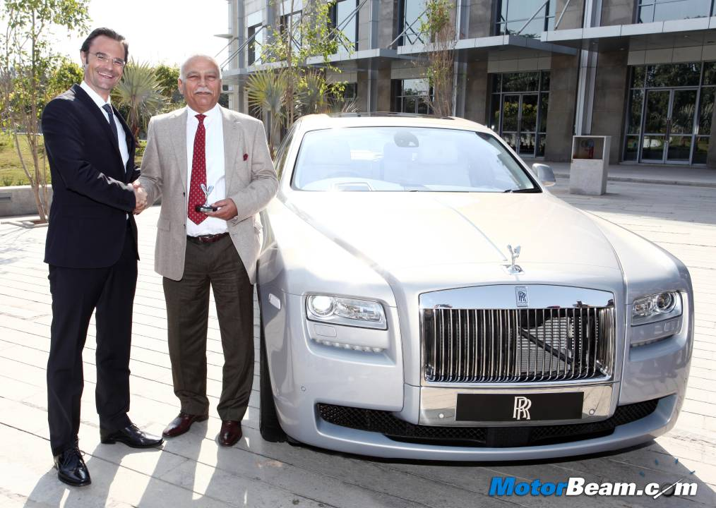 Rolls Royce Chandigarh Showroom