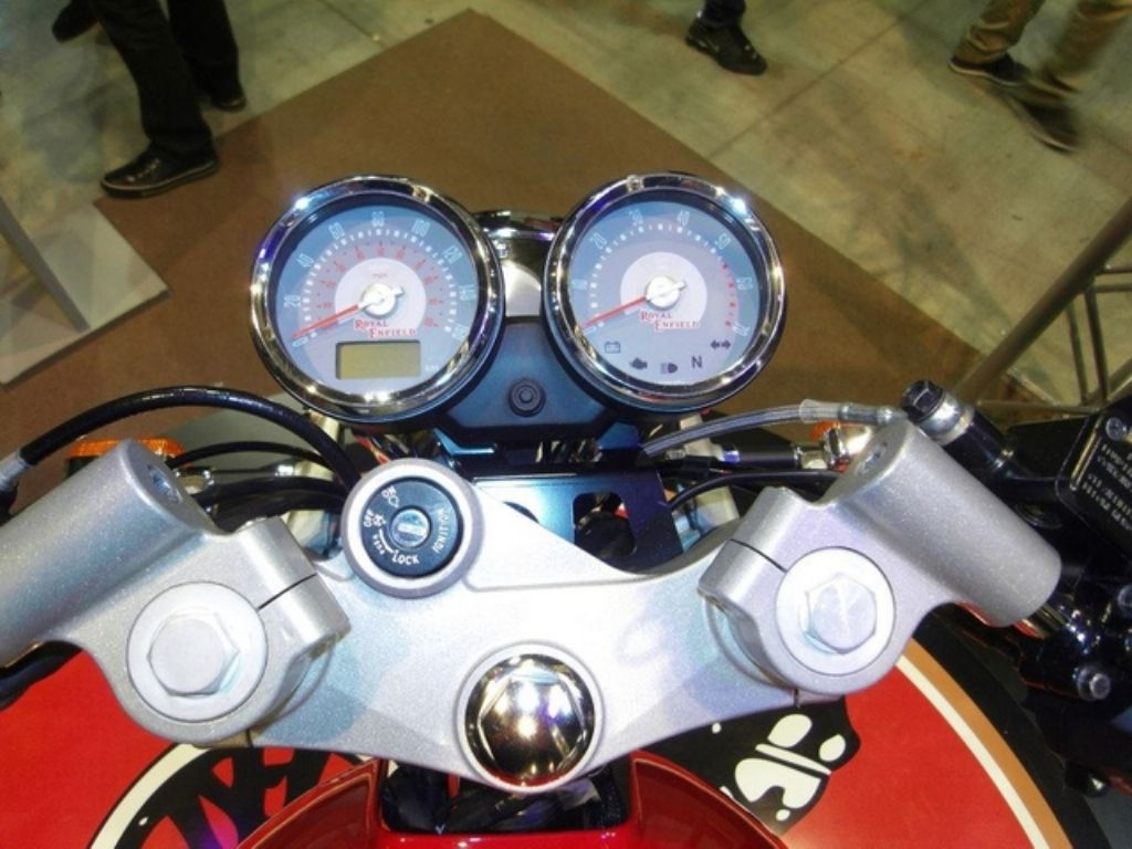 Royal Enfield Cafe Racer Console