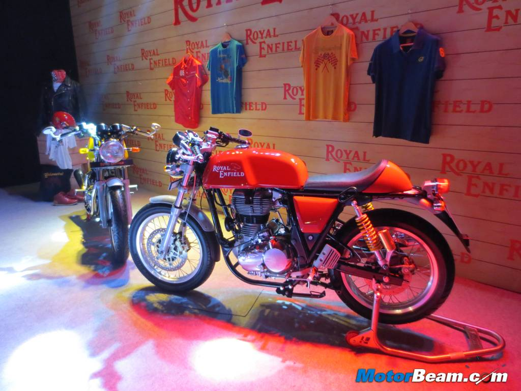 Royal Enfield Continental GT Launch
