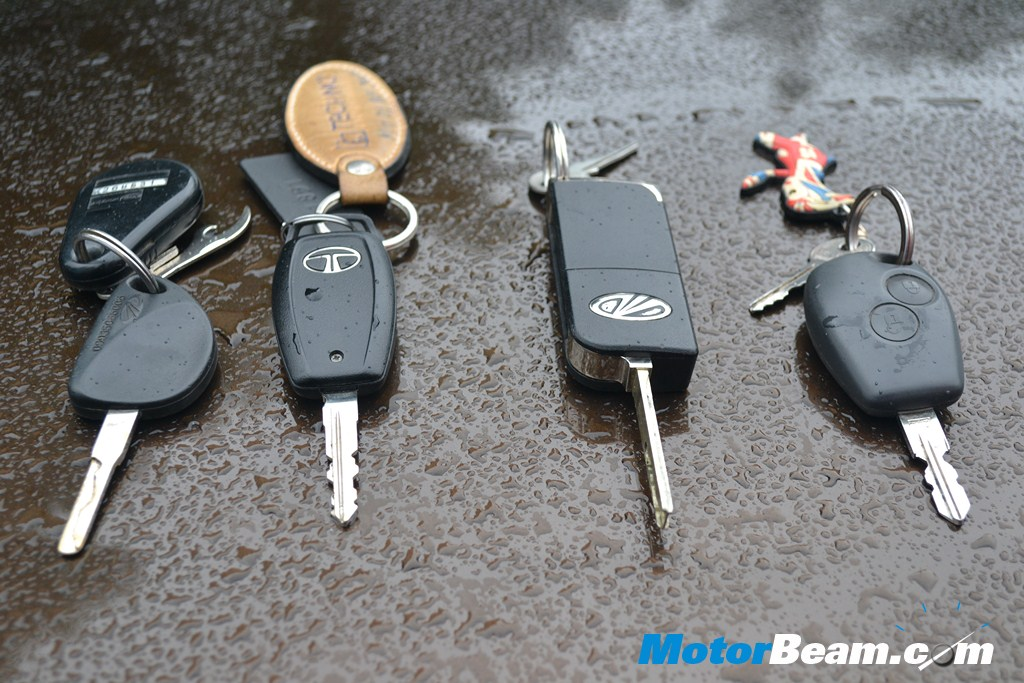 SUV Shootout Keys