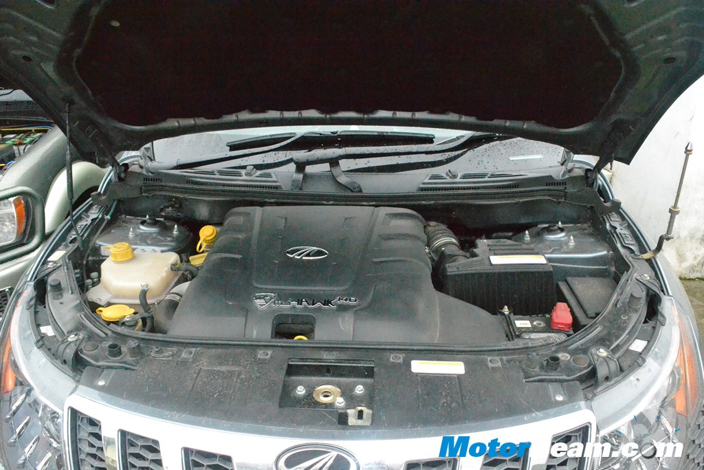 SUV Shootout Mahindra XUV500 Engine