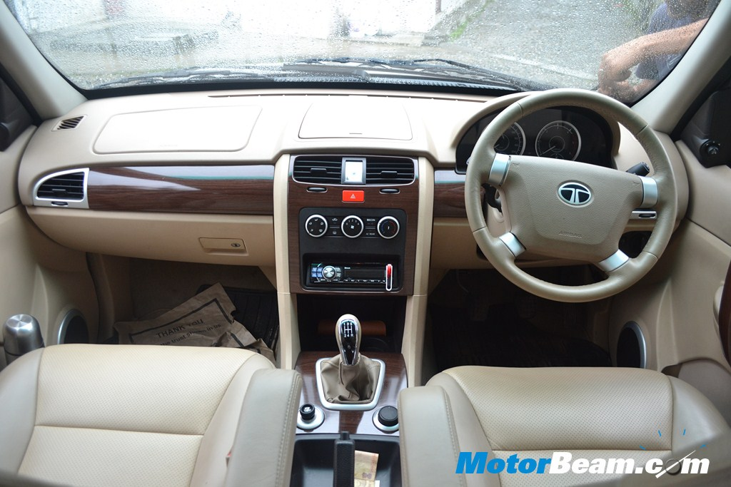 SUV Shootout Tata Safari Storme Interiors