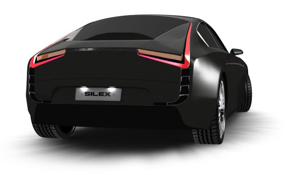 Silex Chreos Electric Vehicle Black Rear