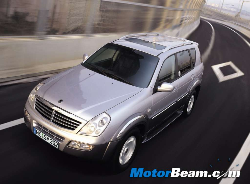 The SsangYong Rexton is
