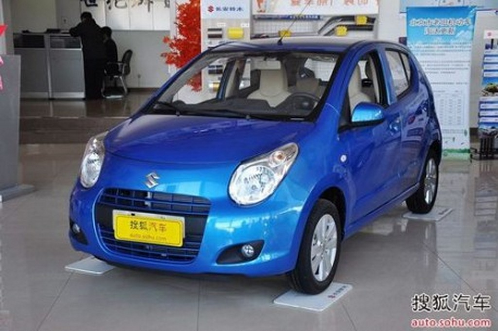 Suzuki Alto China front