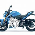 Suzuki Turbocharged Hybrid Bike Patent