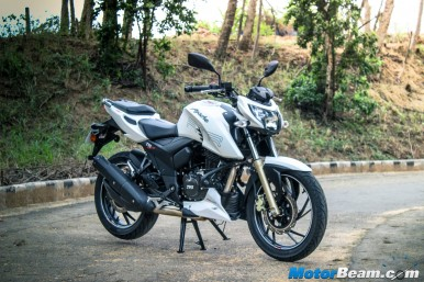 TVS Apache 200 Picture Gallery