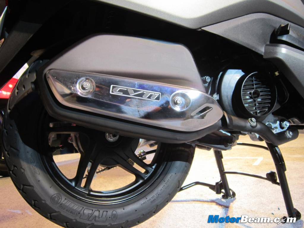 TVS Jupiter Exhaust