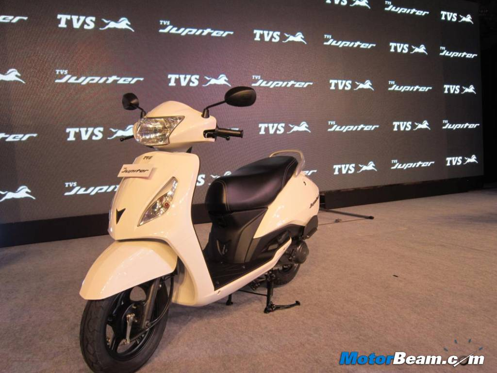 TVS Jupiter Launch India