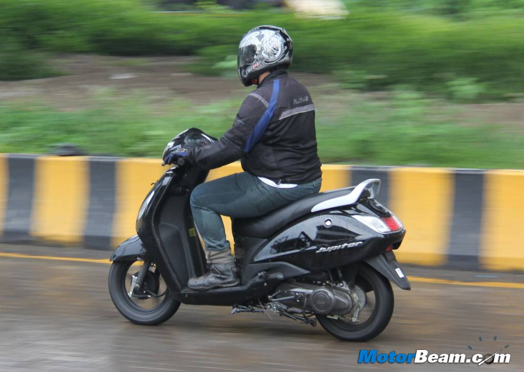 TVS Jupiter Test Ride Review