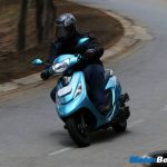 TVS Scooty Zest Test Ride Review