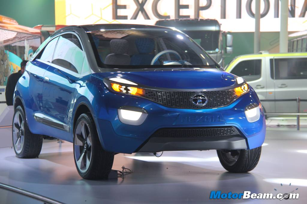 new car launches auto expo 2014seriously blog Tata Unveils Nexon Compact SUV At Auto Expo