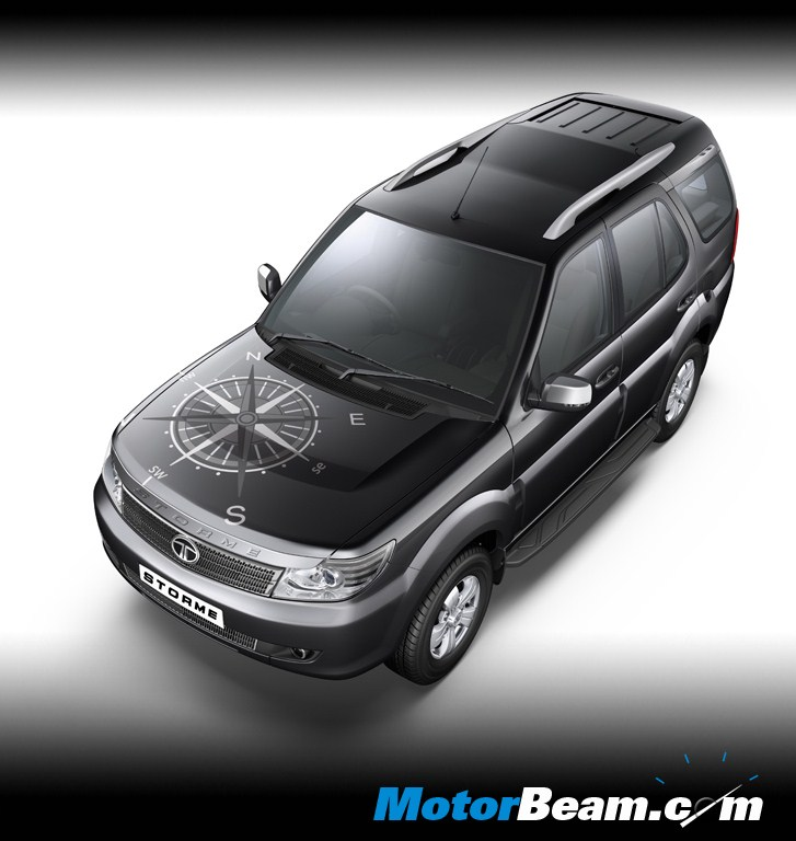 Tata Safari Storme Explorer Edition Black