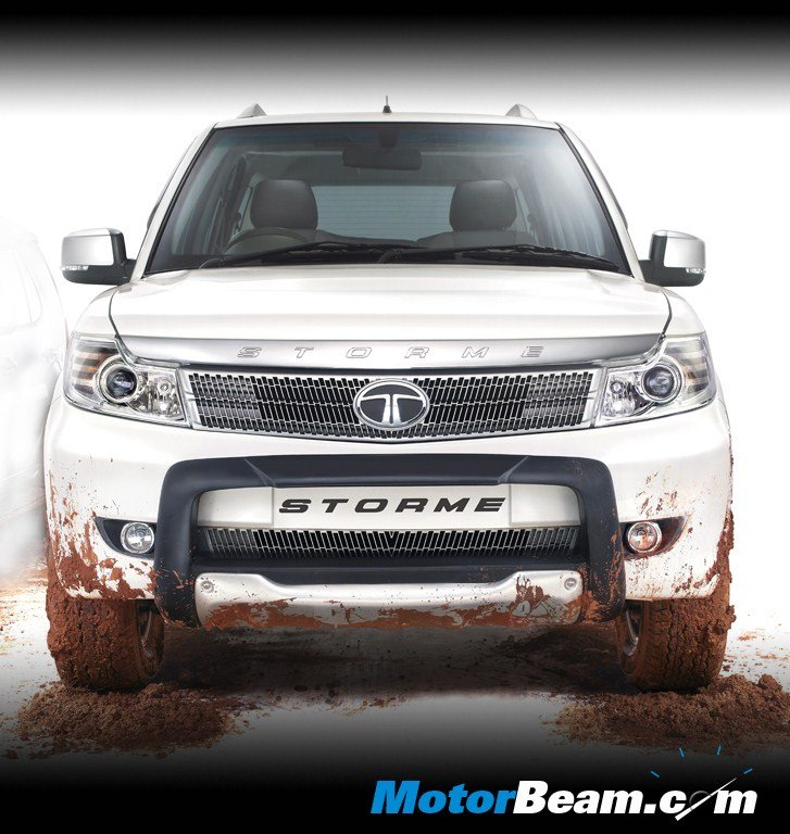 Tata Safari Storme Explorer Edition Front