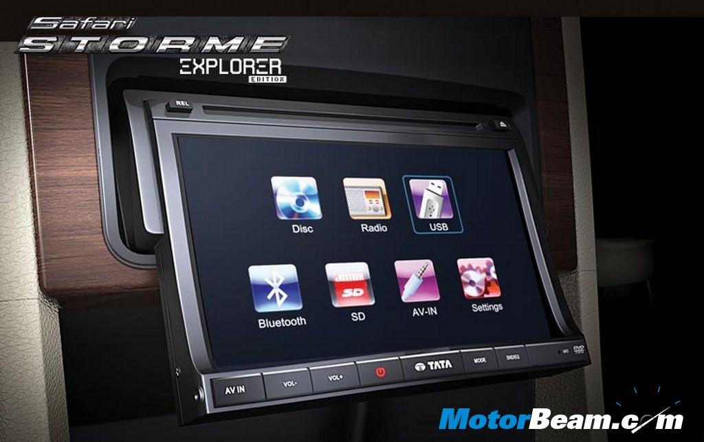 Tata Safari Storme Explorer Edition Multimedia