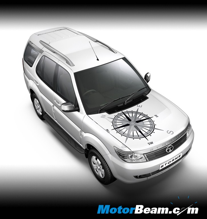 Tata Safari Storme Explorer Edition White