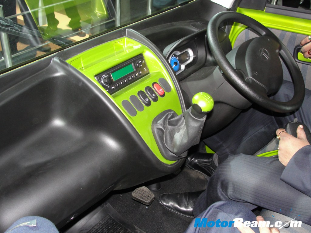 Tata Magic Iris Interior