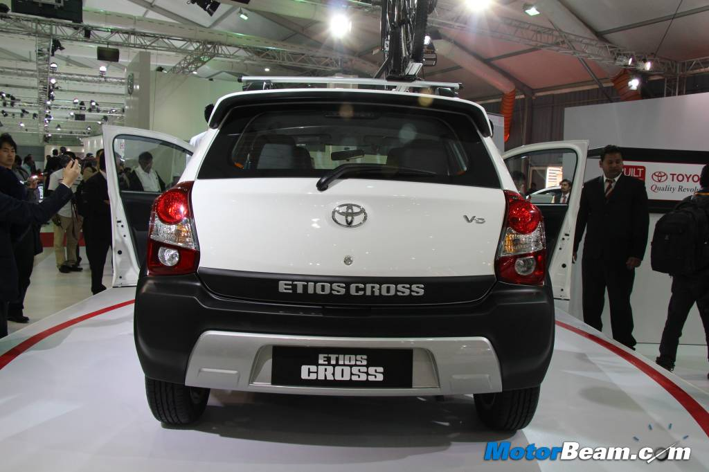 Toyota Etios Cross Rear