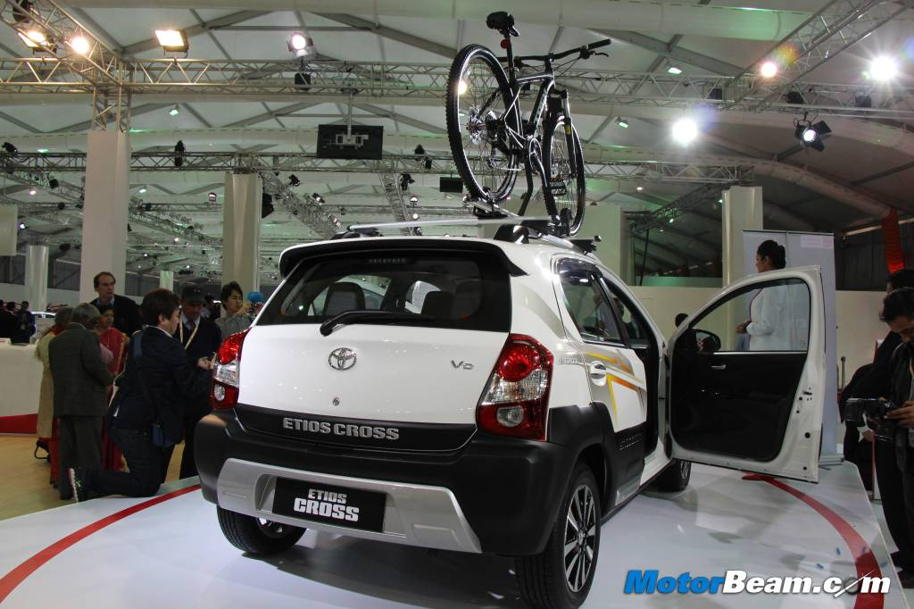 Toyota Etios Cross Roof Rail