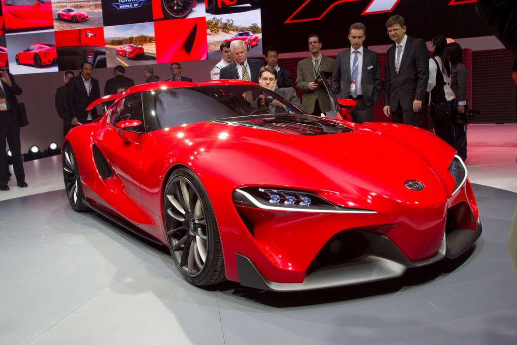 Toyota FT-1 Design Concept-Front