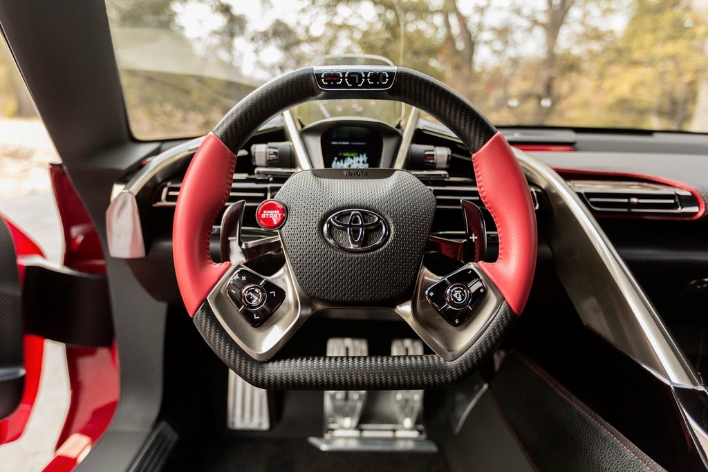 Toyota FT-1 Design Concept Interiors