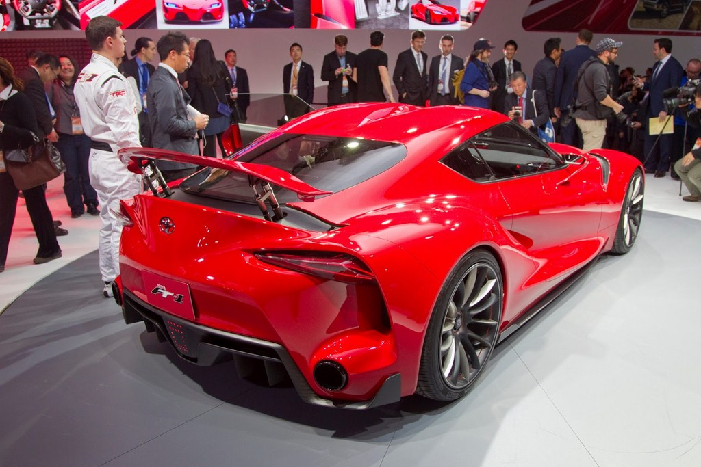 Toyota FT-1 Design Concept Rear