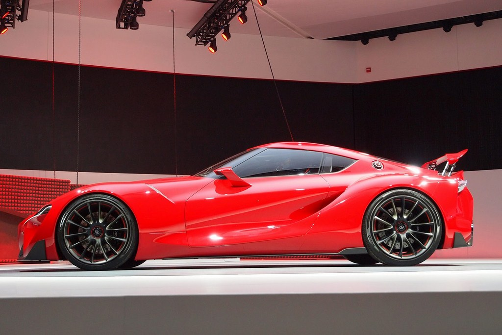 Toyota FT-1 Design Concept Side