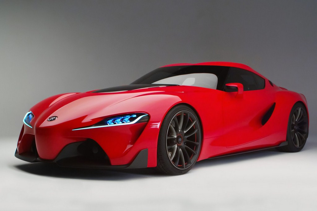 Toyota FT-1 Exhaust