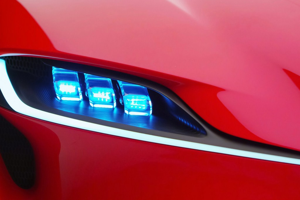 Toyota FT-1 LED Headlamp