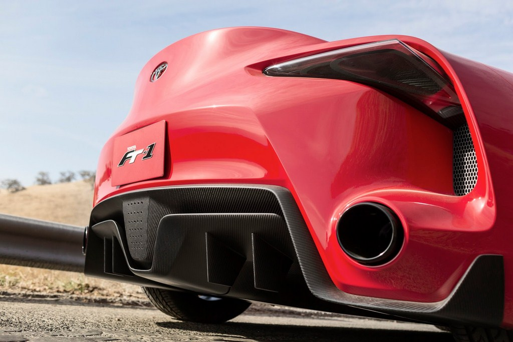 Toyota FT-1 Rear Bumper