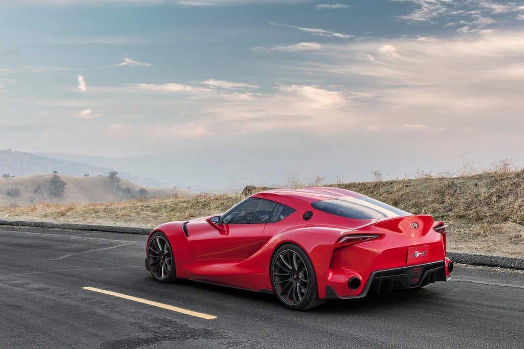 Toyota FT-1 Rear