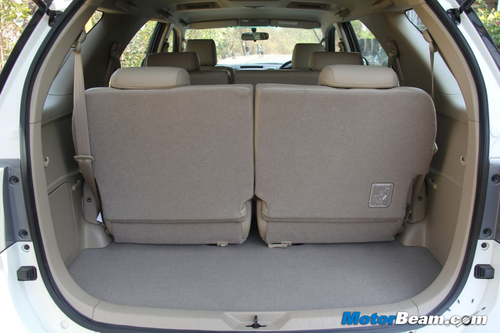 Toyota Fortuner Boot